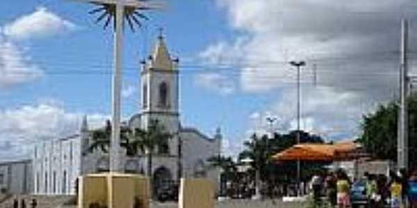 Praça e Igreja em Espírito Santo-Foto:marceloabdon.
