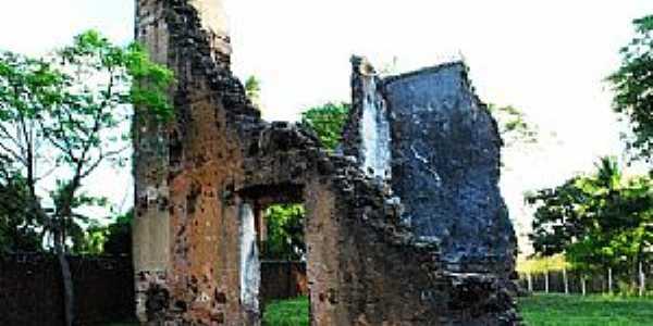 Extremoz-RN-Ruinas da antiga Igreja Jesuita