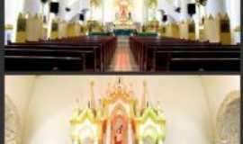 Flor�nia - Interior da Igreja Matriz de Sao Sebasti�o Flor�nia, Por Elizeth Dantas
