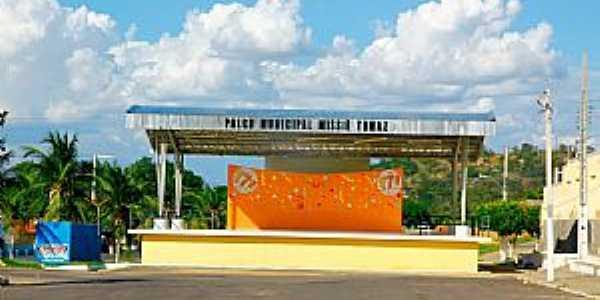 Frutuoso Gomes-RN-Palco Municipal Missiê Tomaz-Foto:Wilson Alcaras