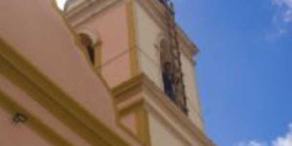 Detalhe da torre da igreja, Por Agacê Di Oliveira