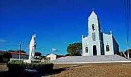 Ipueira - Imagem e Igreja de N.S.do Perpétuo Socorro-Foto:paroquiasjs