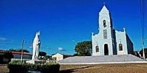 Imagem e Igreja de N.S.do Perpétuo Socorro-Foto:paroquiasjs