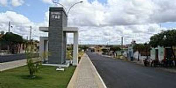 Itaú-RN-Pórtico de entrada da cidade-Foto:Walter Leite