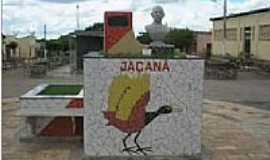 Jaçanã - Busto do ex Prefeito José Ferreira na entrada de Jaçanã-RN-Foto:Alcino50