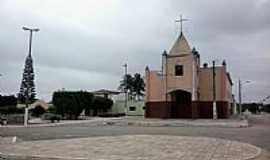 Jaçanã - Jaçanã-RN-Igreja Matriz de N.Sra.de Fátima-Foto:Rodrigo Dantas