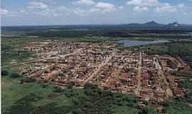 Janduís - Janduís-RN-Vista aérea da cidade-Foto: ciranduis.blogspot.com