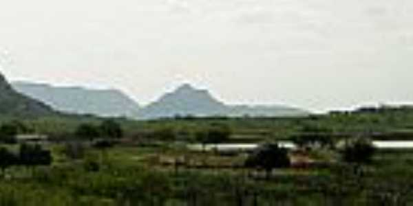 Janduís-RN-Vista das serras-Foto:JBMOURA