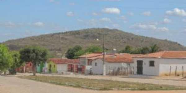Serra Torreão vista da Comunidade de Morada Nova, Por Cosme Fernandes de Souza