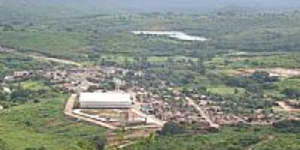 Vista panorâmica da cidade de João Dias-Foto:Jean Vieira