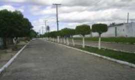 Lagoa de Pedras - Rua de acesso a Barragem Pajuçara, Por Francyano Fernandes