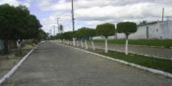 Rua de acesso a Barragem Pajuçara, Por Francyano Fernandes