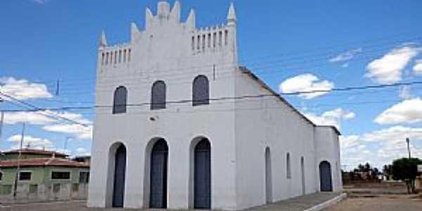 Lagoa de Velhos-RN-Igreja Matriz-Foto:Geraldo Maia
