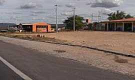 Lajes - Lajes-RN-Rodoviária na beira da estrada-Foto:José Vanderlei
