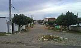 Lajes Pintadas - Entrada da cidade-Foto:evaniobezerra