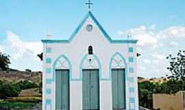 Lajes Pintadas - Igreja-Foto:evaniobezerra
