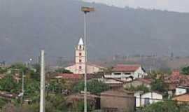Lajes Pintadas - Vista da Igreja-Foto:evaniobezerra
