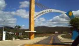 Lu�s Gomes - entrada da cidade de Luis Gomes, Por Gildisnaya