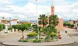 Major Felipe - Praça e Igreja-Foto:blogdocapote