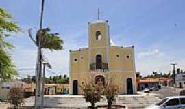 Maxaranguape - Maxaranguape-RN-Praça e Igreja de N.Sra.da Conceição-Foto:Wilson Alcaras