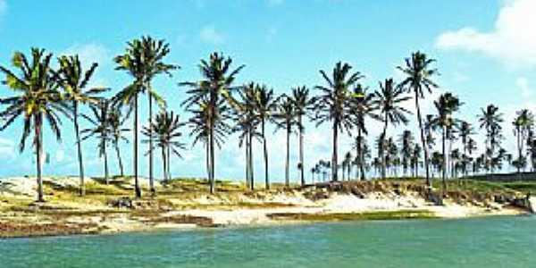 Praia da Barra em Maxaranguape