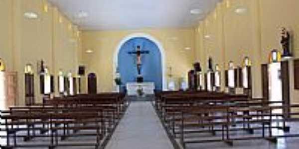 Maxaranguape-RN-Interior da Igreja de N.Sra.da Conceição-Foto:Wilson Alcaras