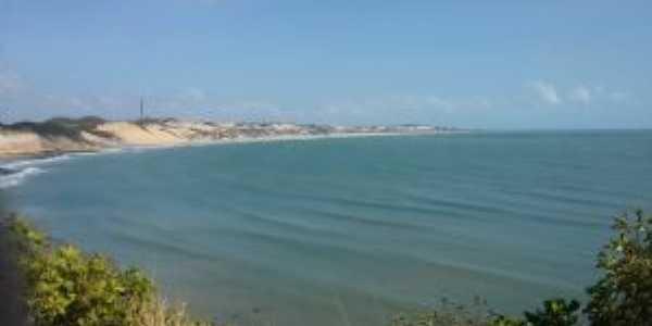 praia de búzios vista do mirante de tabatinga, Por CLAUDESOUZA
