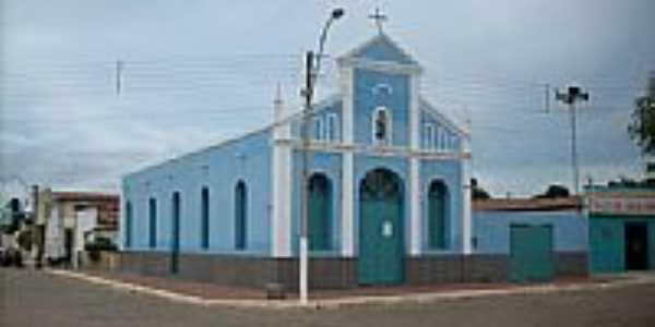 Igreja Matriz de N.Sra.de Nazaré em Parazinho-Foto:Washington@silva