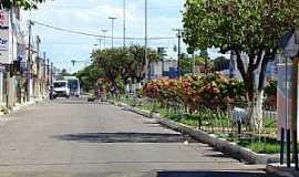 Parnamirim - Parnamirim-RN-Rua no centro da cidade-Foto:Marcus Sampaio