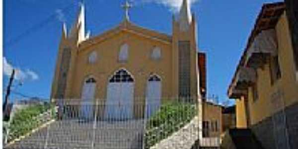 Itarantim-BA-Igreja de Santo Antônio-Foto:itarantimonline.