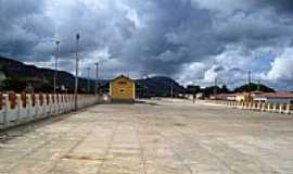 Patu - Pátio da antiga estação ferroviária foto por Walter Leite