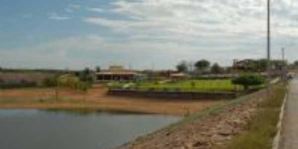 Barra Vento - Barragem de Pau dos Ferros RN, Por Josefa Lacerda