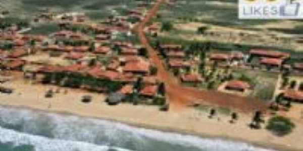 Vista aérea de Pedra Grande-RN Brasil, Por Laedson Vitoriano