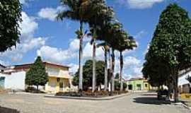 Portalegre - Portalegre-RN-Pracinha com belíssimas palmeiras-Foto:Walter Leite