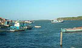 Porto do Mangue - Porto do Mangue-RN-Barcos pesqueiros no Rio das Conchas-Foto:wagiton fenas