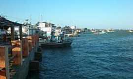Porto do Mangue - Porto do Mangue-RN-Pequena vista do Rio das Conchas-Foto:wagiton fenas
