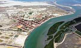Porto do Mangue - Porto do Mangue-RN-Vista aérea-Foto:Ronaldo Diniz