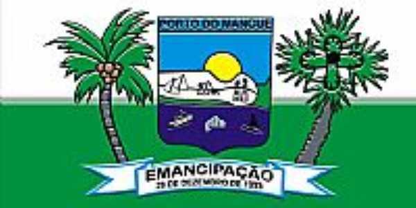 Porto do Mangue-RN-Bandeira da cidade