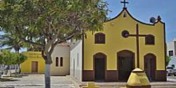 Porto do Mangue-RN-Igreja de N.Sra.Auxiliadora-Foto:Joserley Carlos