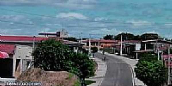 Chegando em Rafael Godeiro-Foto:Dedé de Zé Luca