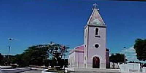 Igreja Católica em Rafael Godeiro-Foto:Dedé de Zé Luca
