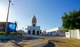 Riachuelo - Riachuelo-RN-Praça e Igreja Matriz-Foto:Wilson Alcaras