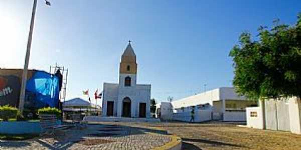 Riachuelo-RN-Praça e Igreja Matriz-Foto:Wilson Alcaras