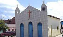Rio do Fogo - Igreja de N.Sra.dos Navegantes em Rio do Fogo-RN-Foto:Vicente A. Queiroz