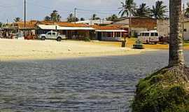 Rio do Fogo - Rio do Fogo-RN-Orla da praia-Foto:Wilson Alcaras