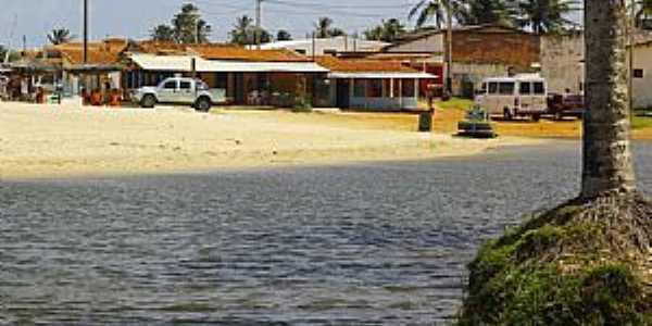 Rio do Fogo-RN-Orla da praia-Foto:Wilson Alcaras