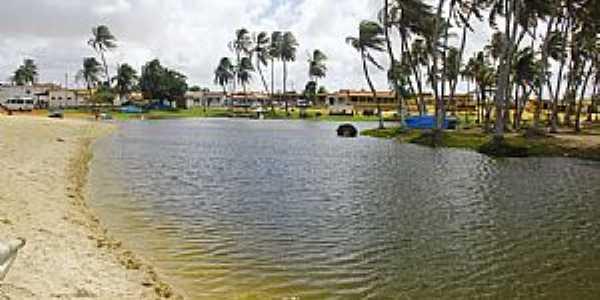 Rio do Fogo-RN-Vista da praia-Foto:Wilson Alcaras