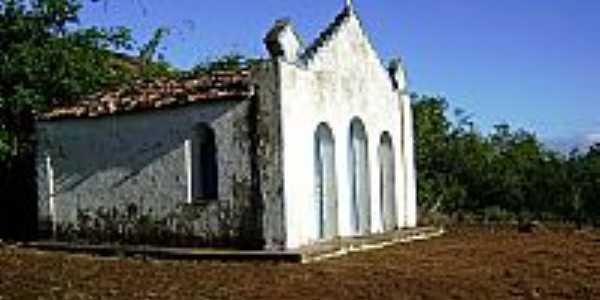Itatim-BA-Capela no Morro da Ponta Aguda-Foto:EFUSÃO
