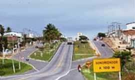 Itiru�u - Itiru�u-BA-Avenida Carlos Bonini,entrada da cidade-Foto:Ed Santos