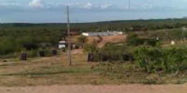 vista do cemitério são josé da passagem, Por NILTON CÉSAR GOMES DE ARAÚJO